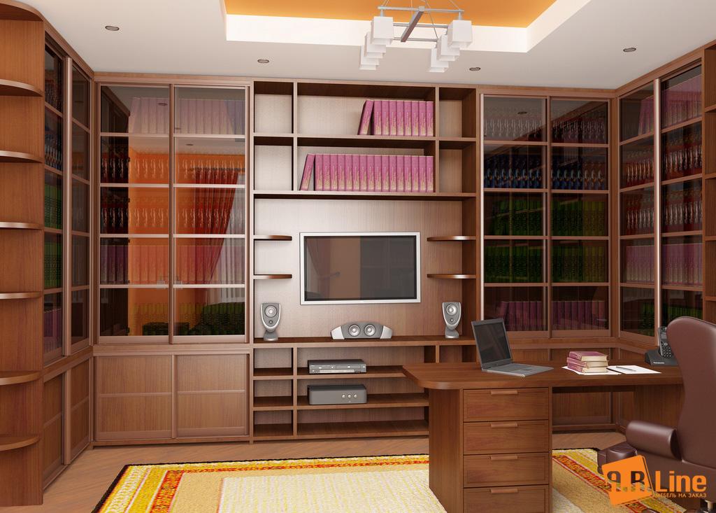 Гостиная С Рабочим Местом Мебель Москва